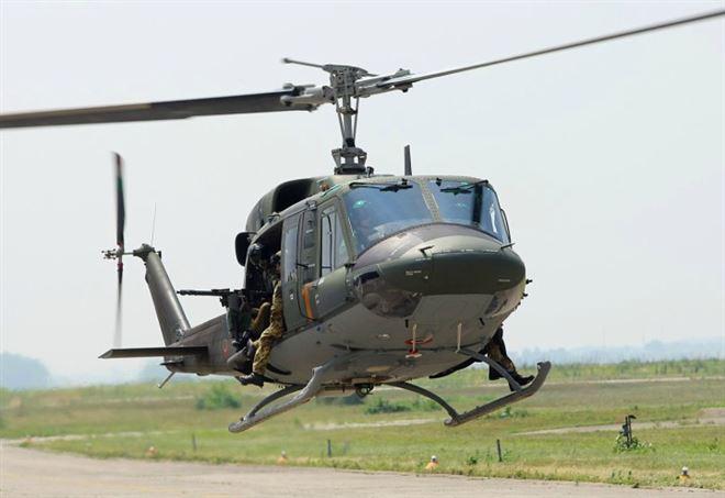 Elicottero Caduto : Elicottero caduto frosinone feriti gravi in due piloti