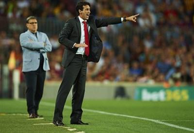 Emery, allenatore Siviglia (Infophoto)