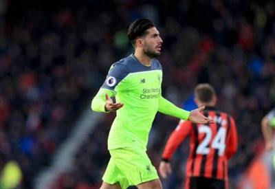 Emre Can, con la maglia del Liverpool (LAPRESSE)