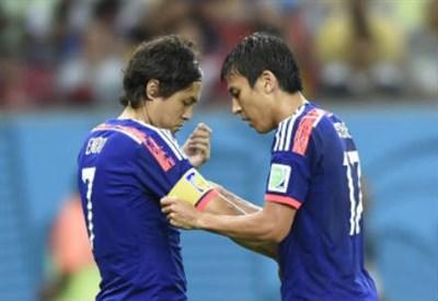 Yashuito Endo (sinistra), 34 anni e Makoto Hasebe, 30 (INFOPHOTO)