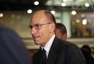 Enrico Letta (Infophoto)