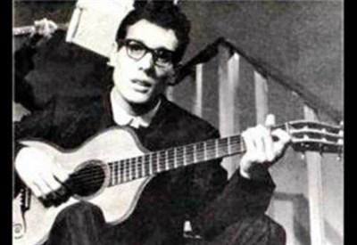 Un giovane Enzo Jannacci (1935-2013)