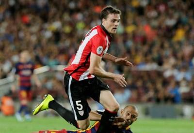 Javi Eraso, 25 anni, centrocampista dell'Athletic Bilbao (INFOPHOTO)