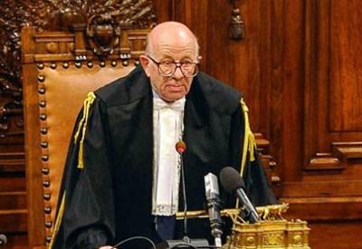 Il giudice Esposito (Foto InfoPhoto)