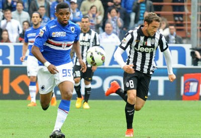 Samuel Eto'o, 34 anni e Claudio Marchisio, 29 (INFOPHOTO)