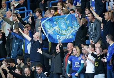 Tifosi dell'Everton