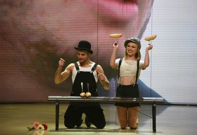Ballando Con Le Stelle: Fabio Basile e Anastasia Kuzmina nel quickstep
