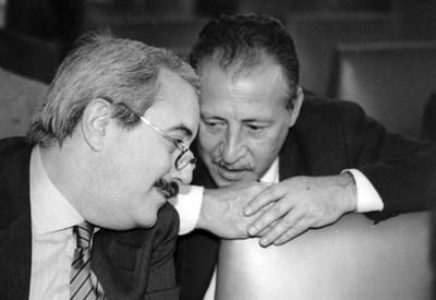 Giovanni Falcone e Paolo Borsellino (Foto dal web)