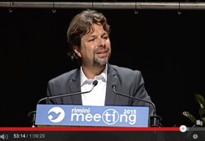 "La ""prolusione"" di Mattia Fantinati (M5s) al Meeting di Rimini (Youtube)"