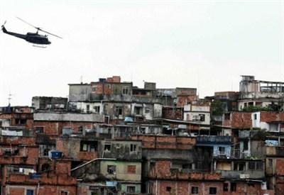 Favelas in Rio de Janiero  (Infophoto)