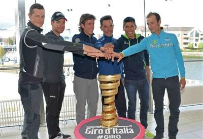 Oggi i favoriti del Giro 2014 sono chiamati ad agire (da Facebook)