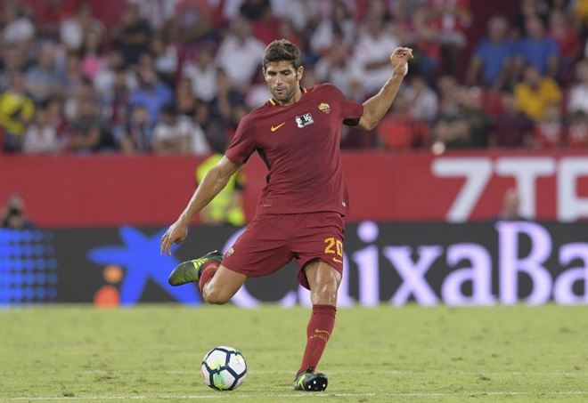 Diretta Roma-Celta Vigo: qui il difensore argentino Federico Fazio, 30 anni (LAPRESSE)