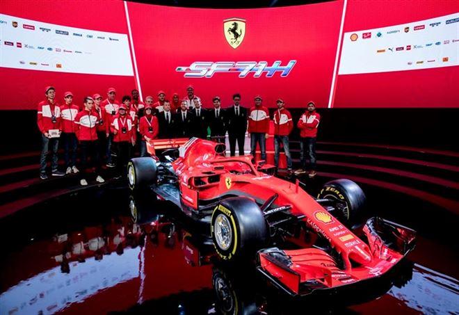 Nuova Ferrari SF71H 2018 (Foto: da Twitter)