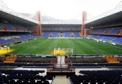 Lo stadio Giuseppe Ferraris di Genova (INFOPHOTO)
