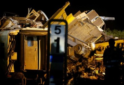 Incidente treno (LaPresse)