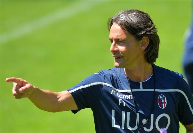 Diretta Bologna Pinzolo: Filippo Inzaghi (LaPresse)