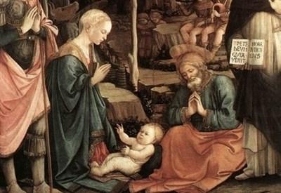Filippo Lippi, Natività (1456 circa) (Immagine dal web)
