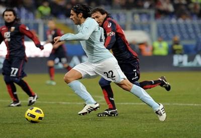 Sergio Floccari, 31 anni, attaccante della Lazio (INFOPHOTO)