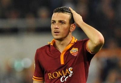 Alessandro Florenzi, 23 anni, centrocampista della Roma (INFOPHOTO)