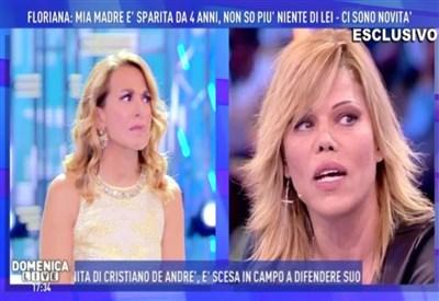 Domenica Live: rissa in studio tra Facci e avvocato Cicciolina