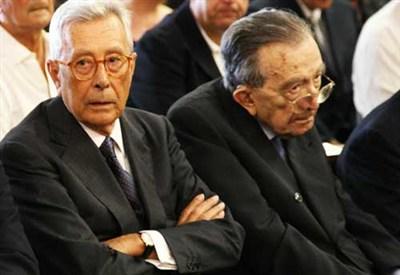 Arnaldo Forlani con Giulio Andreotti