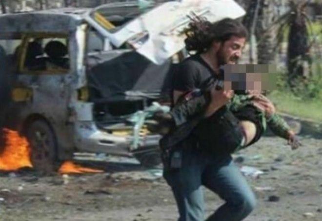 Il fotografo che salvò una bambina ad Aleppo