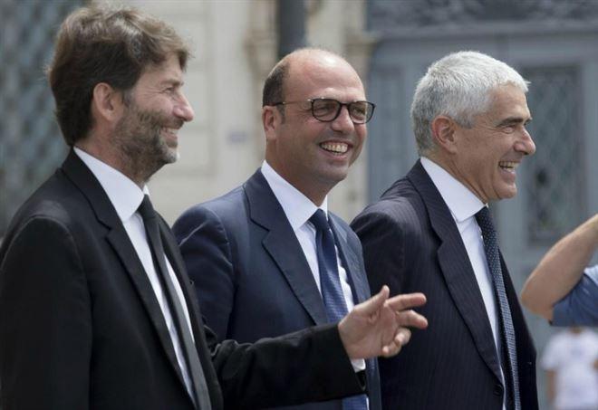 Nuovo centro? Dario Franceschini, Angelino Alfano e Pierferdinando Casini (LaPresse)