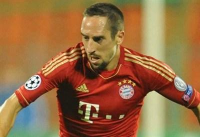 Franck Ribery, fantasista del Bayern (Infophoto)
