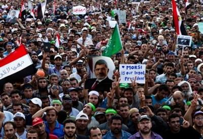 Fratelli musulmani in piazza