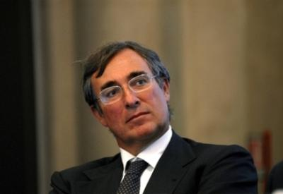 Il presidente del Banco Popolare, Carlo Fratta Pasini (Infophoto)