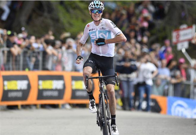 Classifica Giro d'Italia 2018: Chris Froome è la maglia rosa (LaPresse)