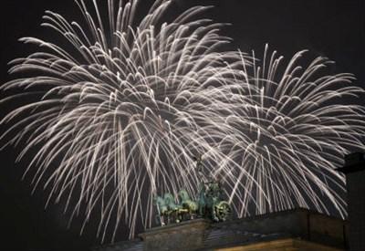 Buon anno 2016! (Infophoto)