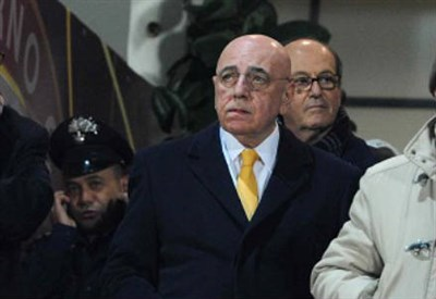 Adriano Galliani, 69 anni, amministratore delegato del Milan (INFOPHOTO)