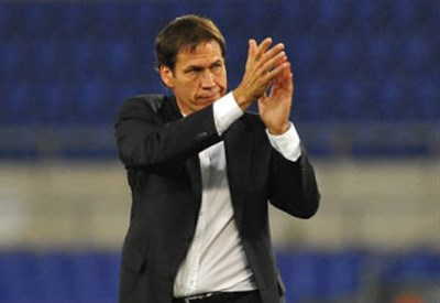 Rudi Garcia, allenatore Roma (Foto Infophoto)