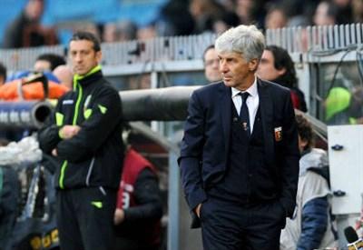 Gian Piero Gasperini, 57 anni, allenatore del Genoa (INFOPHOTO)