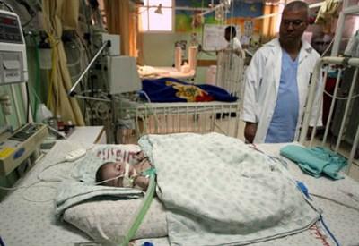 Un ospedale della Striscia di Gaza