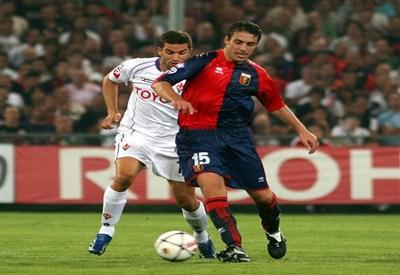 Questa sera in campo Genoa e Fiorentina per il posticipo della decima giornata di serie A (INFOPHOTO)
