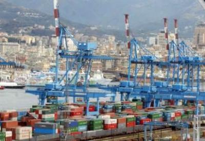 Genova vista dal porto - Infophoto