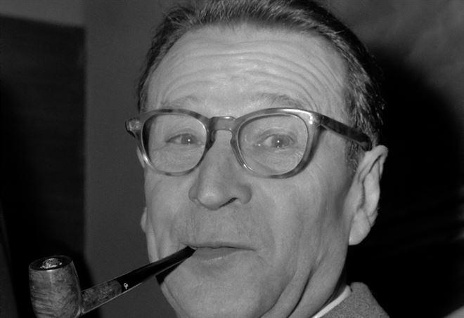 Georges Simenon (Foto Jac. de Nijs / Anefo, 1965. Da Wikipedia)