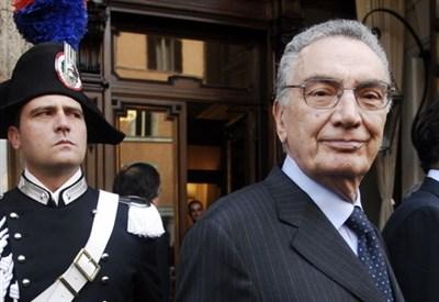 Gerardo D'Ambrosio (1930-2014) (Infophoto)