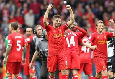 Gerrard, capitano Liverpool (Infophoto)