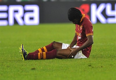 Gervinho, 26 anni, attaccante ivoriano della Roma (INFOPHOTO)