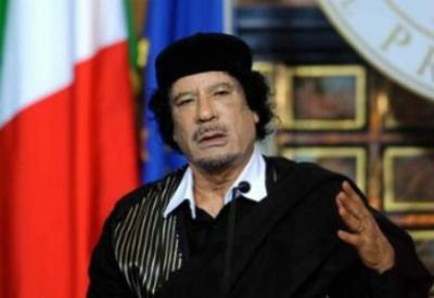 Muammar Gheddafi (Infophoto)