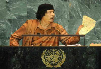 Era Gheddafi l'obbiettivo che portò alla strage di Ustica? Foto Infophoto