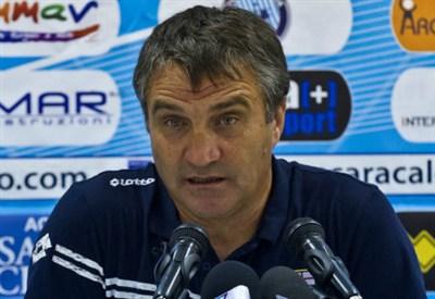 Gigi De Canio, ex allenatore del Catania (Foto Infophoto)