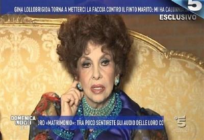 Roma, processo matrimonio Lollobrigida: assolto 'falso' marito