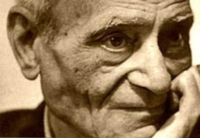 Giorgio Caproni (1912-1990; immagine d'archivio)