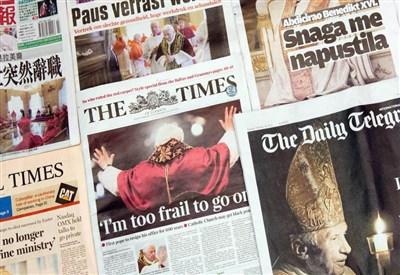 Le copertine dei giornali (Foto: Infophoto)