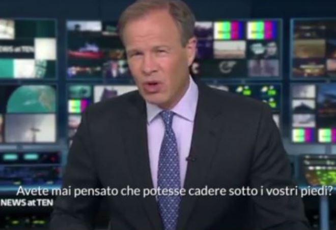 Genova, bufera su giornalista tv inglese