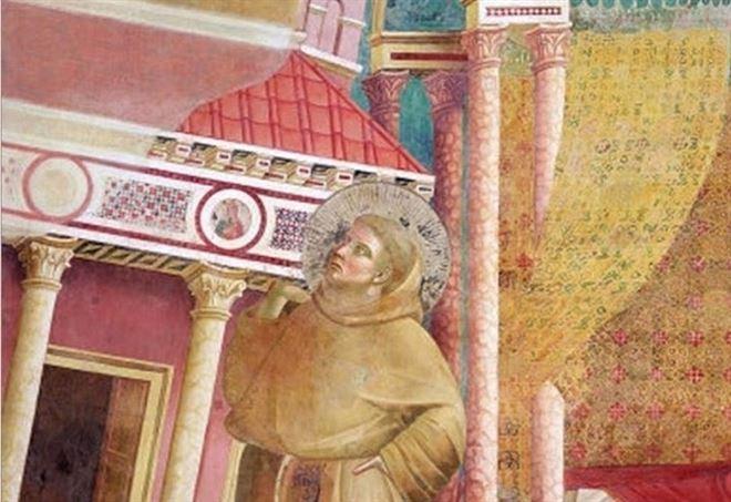 Giotto, San Francesco nel